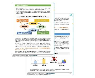 無料小冊子「組織マネジメントの極意」サンプル画像_株式会社コーデュケーション